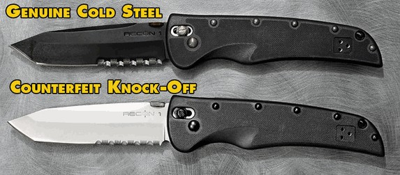 Cold Steel Recon1 Fake