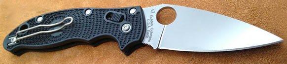spyderco manix 2 lightweight black