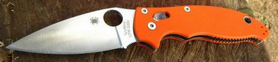 spyderco manix 2 orange