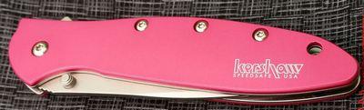 Kershaw Leek Pink