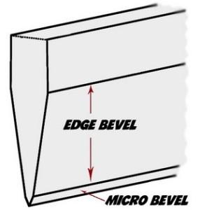 micro-bevel